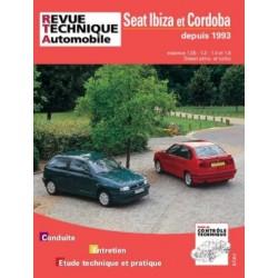 RTA567 SEAT IBIZA, CORDOBA ESSENCE 1.0 A 1.6 ET DIESEL DEPUIS 1993