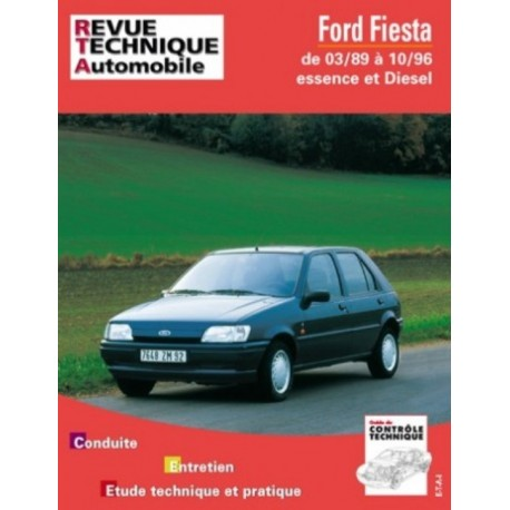 RTA512 FORD FIESTA / COURRIER ESSENCE ET DIESEL 1989-96