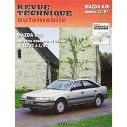 RTA528 MAZDA 626 SAUF 4X4 ESSENCE ET DIESEL 1988-91