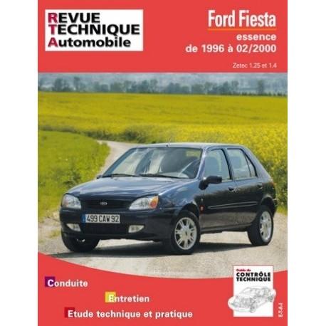 RTA600 FORD FIESTA MOTEUR ZETEC 1.25 ET 1.4 1996-2000