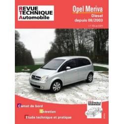 RTA681 OPEL MERIVA DEPUIS 2003