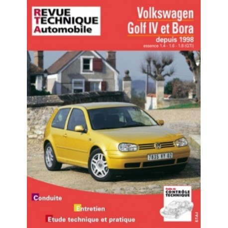 RTA618 VOLKSWAGEN GOLF IV ET BORA ESSENCE 1.4 A 1.8 DEPUIS 01/1998
