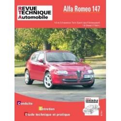 RTA658 ALFA ROMEO 147 ESSENCE 1.6 2.0 ET DIESEL