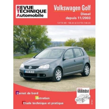 RTA680 VW GOLF V TDI DEPUIS 11/2003