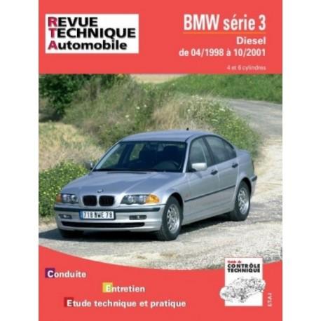 RTA645 BMW SERIE 3 320/330 DIESEL (1998/2001) 4 ET 6 CYL.
