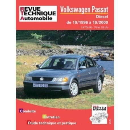 RTA625 VOLKSWAGEN PASSAT DIESEL TDI 90-110-115 CH DEPUIS 10/1996