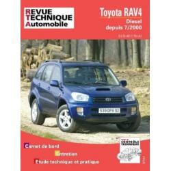 RTA662 TOYOTA RAV 4 DIESEL 2.0 D4D 115 CH DEPUIS 07/2000