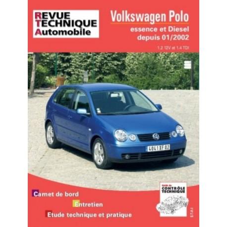 RTA683 VW POLO ESSENCE 1.2 ET DIESEL 1.4 TDI DEPUIS 01/02