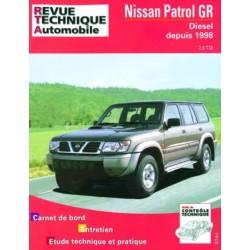 TAP376 NISSAN PATROL GR DIESEL DEPUIS 1998 2.8 TDI