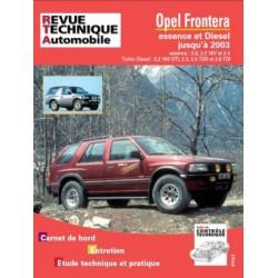 TAP369 OPEL FRONTERA ESSENCE ET DIESEL JUSQU'A 2003