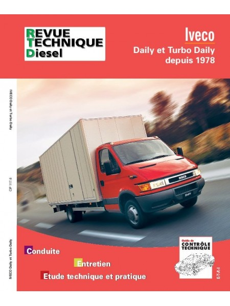 RTA117 IVECO DAILY ET TURBO DAILY DEPUIS 1978