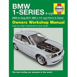 BMW 1-SERIES (2004 - 2011) OWNER'S WORKSHOP MANUAL