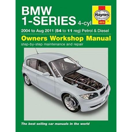 BMW 1-SERIES (2004 - 2011) OWNER'S WORKSHOP MANUAL