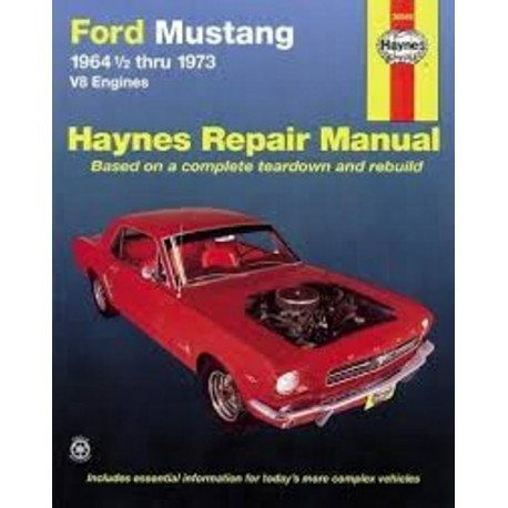 FORD MUSTANG V8 64-73