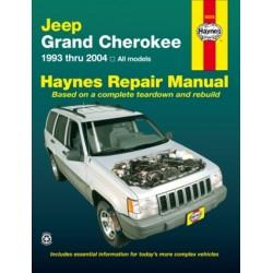 JEEP GRAND CHEROKEE 1993/04 - HAYNES REPAIR MANUAL