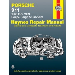 PORSCHE 911 1965 TO 1989 - AUTOMOTIVE REPAIR MANUAL