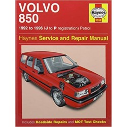 VOLVO 850 PETROL 1992-96 - OWNERS WORKSHOP MANUAL