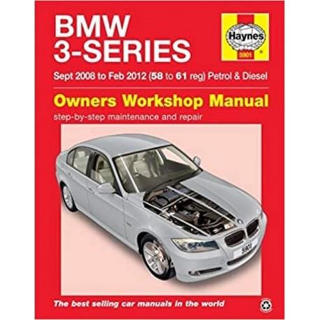 BMW 3-SERIES SEPT. 08 TO FEB.12 OWNER'S WORKSHOP MANUAL