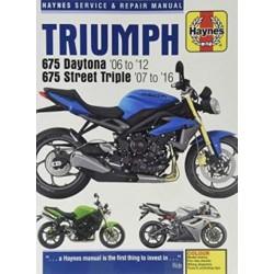 TRIUMPH 675 2006-16 - SERVICE & REPAIR MANUAL
