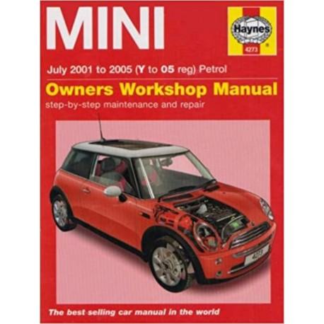 MINI 2001-05 PETROL OWNERS WORKSHOP MANUAL