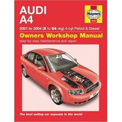 AUDI A4 2001-04 4CYL PETROL & DIESEL - OWNERS WORKSHOP MANUAL