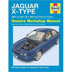 JAGUAR X TYPE (01-11) OWNER'S WORKSHOP MANUAL