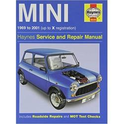 MINI 1969-2001 - HAYNES SERVICE AND REPAIR MANUAL