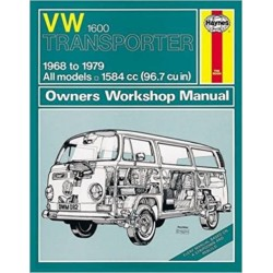 VW TRANSPORTER 1600 1968-79 - OWNERS WORSHOP MANUAL