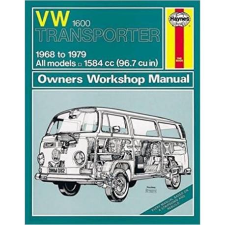 VW TRANSPORTER 1600 1968-79 - OWNERS WORSHOP MANUAL