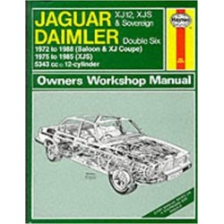 JAGUAR XJ12 1972-1988 OWNER'S WORKSHOP MANUAL