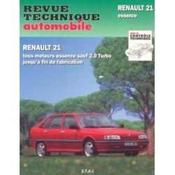 RTA710 RENAULT 21 1.7, 2.0 ESS SAUF TURBO JUSQU A FIN FAB