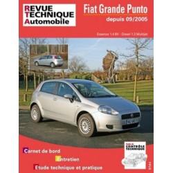 RTAB704 FIAT GRANDE PUNTO 1.4 8V ET 1.3 JTD DEPUIS 09/2005