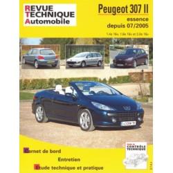 RTAB714 PEUGEOT 307 II + CC ESSENCE 1.4, 1.6, 2.0 (16V) DEP 06/2005