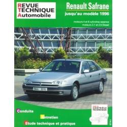 RTA722 RENAULT SAFRANE E ET D - TD JUSQU'1996