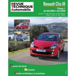 RTAB702 RENAULT CLIO III 1.4 16V, 1.5 DCI (85/105 CH) DEPUIS 09/05