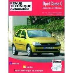 RTA741 OPEL CORSA C ESSENCE 1.0 1.2 1.4 ET DIESEL DEPUIS 10/2000