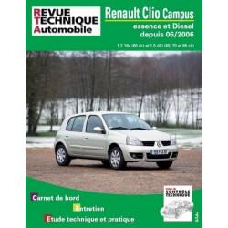 RTAB726 RENAULT CLIO II DEPUIS 07/06  1.2 ESS. ET 1.5 DCI