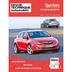 RTAB784 OPEL ASTRA 1.7 CDTI 110/125 ch FAP 01/2010-06/2012