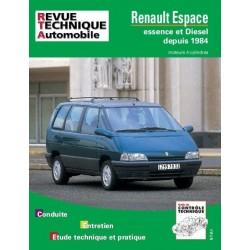 RTA709 RENAULT ESPACE 4 CYL ESS, DIESEL, TD 1985-96