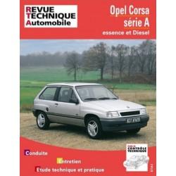 RTA718 OPEL CORSA A ESSENCE ET DIESEL 1983-93