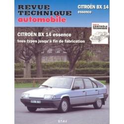 RTA703 CITROEN BX14 TOUS TYPES 1983-92