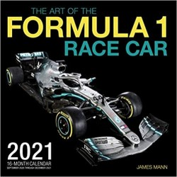 THE ART OF FORMULA 1 RACE CAR 2021 CALENDAR