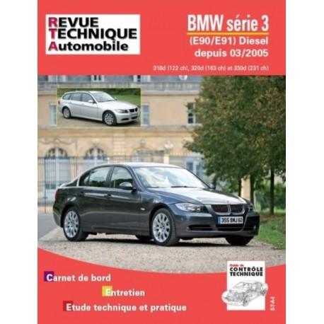 RTAB712 BMW SERIE 3 E90-91 318D, 320D, 330D DEPUIS 03/2005