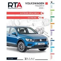 RTA850 VW TIGUAN II 2.0TDi 115, 150, 190ch DEPUIS 04-2016