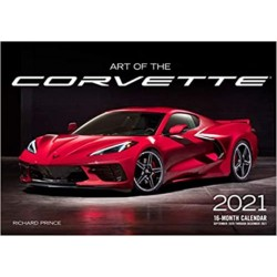 ART OF THE CORVETTE 2021 CALENDAR