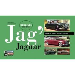 JAG'- JAGUAR BERLINES 1955-1968