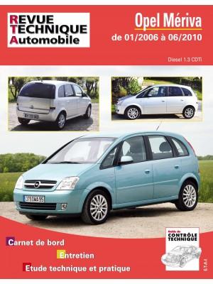RTAB743 OPEL MERIVA 1.3 CDTI DE 01/2006 AU 06/210