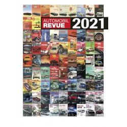 REVUE AUTOMOBILE SUISSE 2021 CATALOGUE