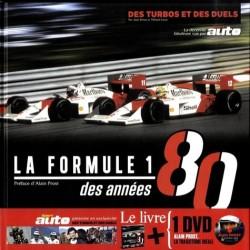 LA FORMULE 1 DES ANNEES 80 - LIVRE + 2 DVD