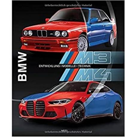 BMW M3 M4 - ENTWICKLUNG-MODELLE-TECHNIK